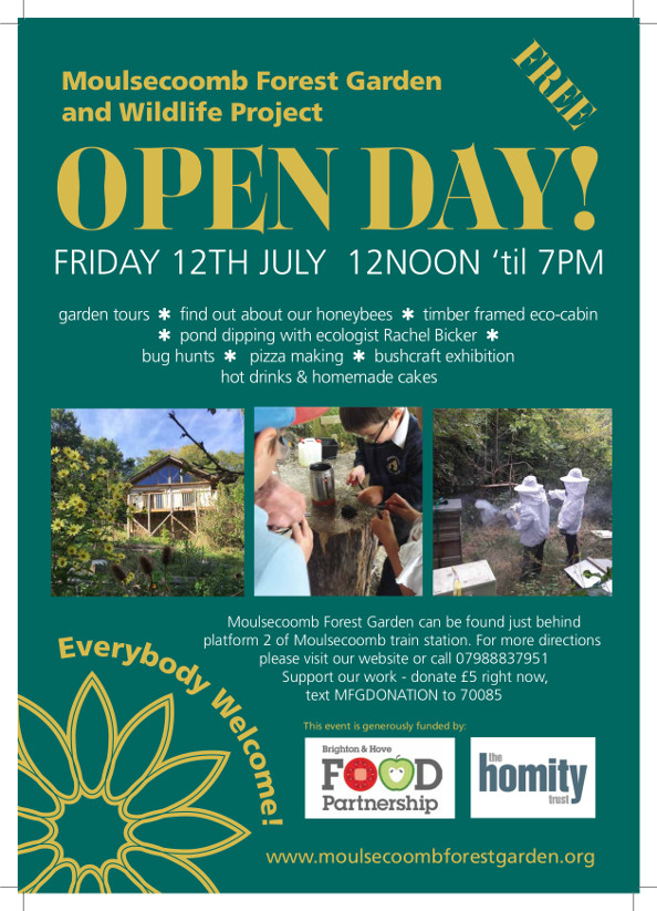 forest garden open day 2019