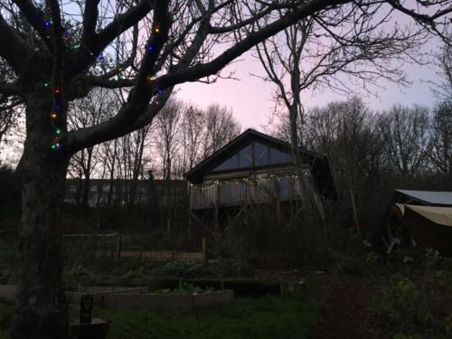 cabin christmas 2018